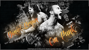 The Best In The Wwe DB and Cm Punk by Llliiipppsssyyy