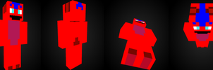 pein minecraft skin by pein078