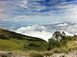 Mt. Sumbing, Indonesia by hcq
