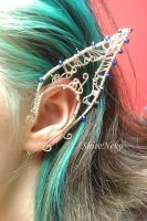 Windy Elf Ear Cuff by ShirNek0