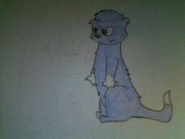 By request: Purple Otter by Hii621