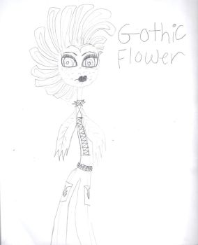 Gothic Flower by NanaxBennet