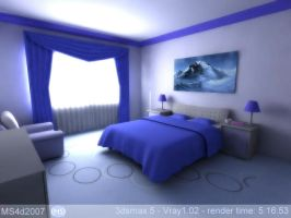 bed room by MS4d