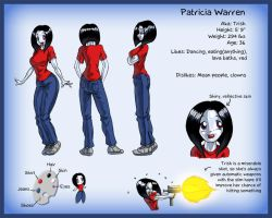 Model Sheet: Trish by Marauder6272