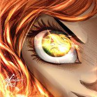 Phoenix Eyes by Corsariomarcio