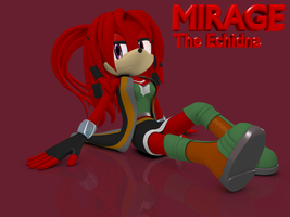 AT: Mirage The Echidna by Argos90