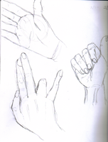 Hand Study 5 by waterfish5678901