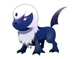 Absol pre-evolution .:Laurelman commission:. by Spotted--Jaguar