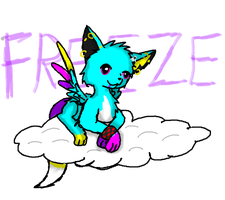 Freeze on a Cloud by freezekitteh