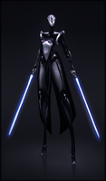 Star Wars Sith Android Design by Lodaligae