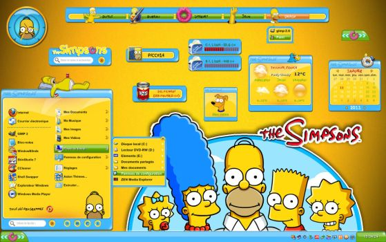 The Simpsons Aston2 by Picco14