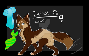 Deisal ref -temporary- by DeisalWolf87