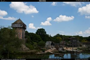 Medieval village 7 by Wess4u