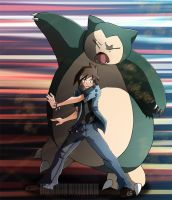 Snorlax, I choose you! by elginive