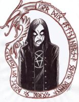 For You Satan runes by satanen