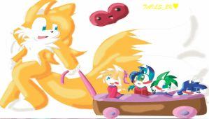 .:The Tails 4 Babies:. by CrazyCakesune