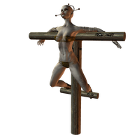 Crucify 007 by Selficide-Stock