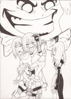 Harlette in Ink by magusVroth
