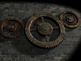 Gears on the Wall by BrotherOfMySister