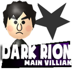 Mii Profile Icon - Dark Rion by Kulit7215