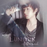 Eunhyuk Rhythm of the Soul Album Cover Art by Cristal1994