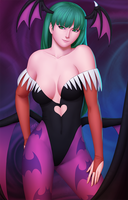 Morrigan by Rusinstein