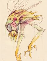 crappy fly beast by b33lz3bub