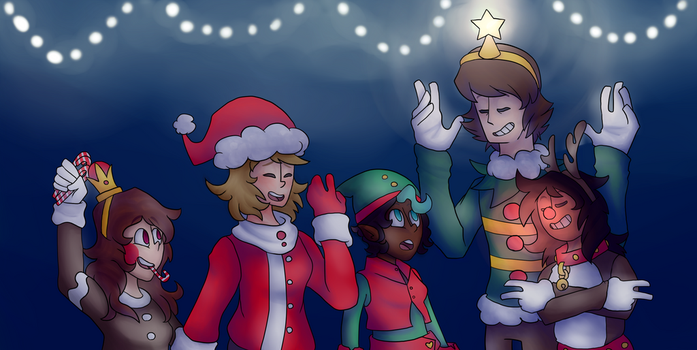 Christmas with the nerds by PURP13PROB13MS