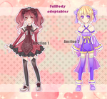 Fullbody Adoptables [CLOSED] by YukikaChan