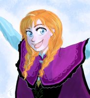 Do you want to build a snowman Anna by Tona1