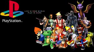 PS1 All-Stars - Wallpaper by DaShyster