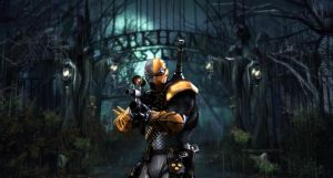 Deathstroke wallpaper by PsychosisEvermore