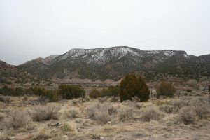 mountains in Santa Fe by goodiebagstock