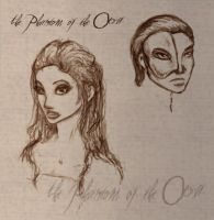 The Phantom of the Opera by catdragongrl
