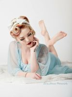 Pajama Party Pinup - Savanna May by SassyChassis