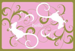 Another Postcard: Hello Rats by pepper-tea