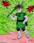 Prince Jamie and hedge leaves (Request) by GreenDayLuigi
