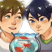 Free! - Goldfish by Cat-s-Art