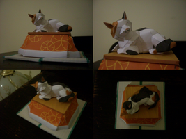 Kotatsu Cat - Paper Craft by Envy7Sins