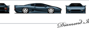 Jaguar XJ220 by Diluted-Illusion