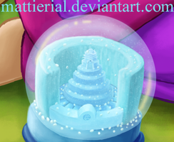 Avatar Advent Calendar: Day 17: North Snow Globe by Mattierial
