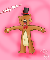 teddy bear. by xXMAYZXx