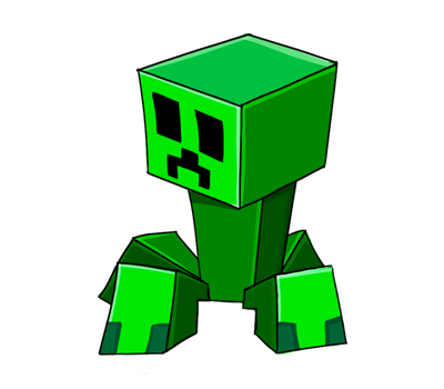 Minecraft little PNG creeper [RedSheep Collestion] by EpicArtManiac