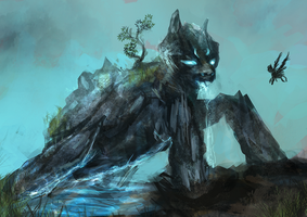 MLP water golem pony auction 13 CLOSED by ElkaArt