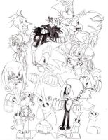 Sonic Characters! by TheHypotheticalNerd