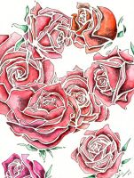 Roses by Little-Bluefish