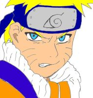Naruto-colored on comp by hylian-dragoness