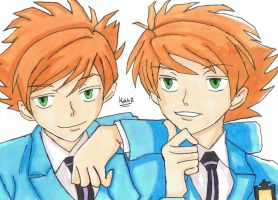 Hitachiin twins by blazekid7