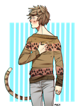 Big Boys Sweater by Muchinery