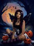 All Hallows' Eve by Anna-Marine
